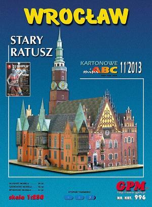 996   *   11\13   *   Wroclaw   Stary  Ratusz(1:250)   *   GPM-ARH