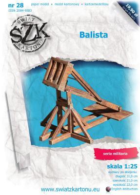 028   *   Balista(1:25)   *   SzK