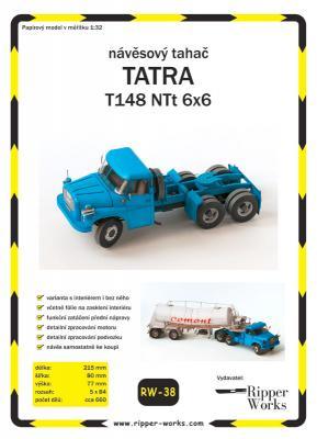 038   *   TATRA  T148  NTt  6x6(1:32)   *   RW