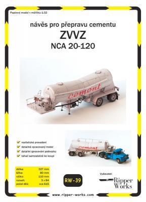 039   *   Naves ZVVZ  NCA  20-120(1:32)   *   RW