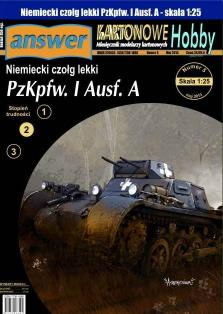 039   *   6/13   *  PzKpfw. I  Ausf. A(1:25)   *   Answer  KH