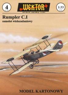 004   *    Rumpler C.I(1:33)    *   WEKTOR
