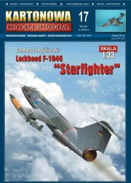 "017   *   2-3\13   *   Lokheed F-104G  ""Starfighter""(1:33)   *   KART  KOL"