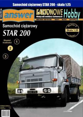 Samohod ciezarowy STAR 200(1:25)   *   Answer KH