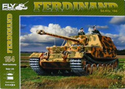 GOM-154  *   Sd.Kfz.184  FERDINAND(1:25)   +  резка