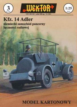 003   *   Kfz. 14  Adler(1:25)   *   WEKTOR