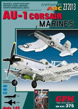 GP-360   *   23\13\375   *   AU-1 Corsair  marines(1:33)