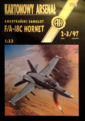 "21    *   2-3\97   *   Amerykanski samolot ""F/A-18C Hornet"" (1:33)      *      HAL"