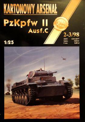 25   *   2-3\98   *   PzKptf II Ausf.C (1:25)     *       HAL