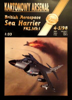 "26   *    4-5\98   *   British Aerospace ""Sea Harrier FRS.Mk I"" (1:33)      *       HAL"