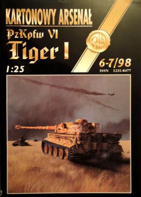 27     *    6-7\98     *    PzKpfw VI Tiger I (1:25)      *      HAL