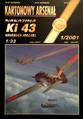 34    *   1\01    *     Nakajima Ki 43 Hayabusa (oscar) (1:33)     *       HAL