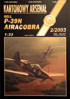 41    *  2\03    *    Bell P-39N Airacobra (1:33)       *        HAL