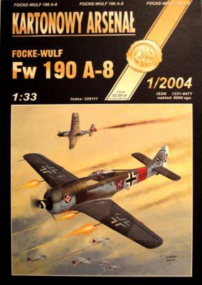 43   *   1\04     *    Focke-Wulf Fw 190 A-8 (1:33)      *      HAL