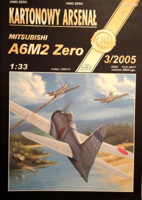 49    *   3\05   *   Mitsubishi A6M2 Zero (1:33)      *        HAL