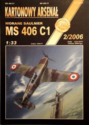 53   *    2\06   *   Morane saulnier VS 406 C1 (1:33)      *       HAL
