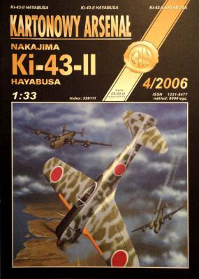 55    *    4\06    *    Nakajima Ki-43-II Hayabusa (1:33)      *      HAL