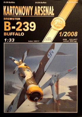 59    *    1\08    *    Brewster B-239 Buffalo (1:33)       *        HAL