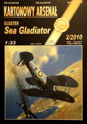 67    *  2\10   *    Gloster Sea Gladiator (1:33)      *       HAL