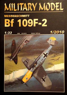 031  *   1\10      *    Messerschmitt Bf 109F-2 (1:33)       *      HAL *  MM