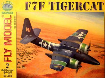 GOM-002     *    F7F Tigercat (1:33)