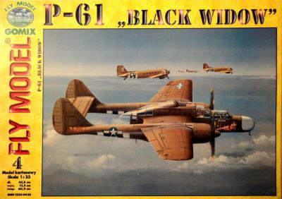 GOM-004    *     P-61 black widow (1:33)