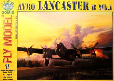 GOM-009     *     Avro Lancaster B Mk.I (1:33)