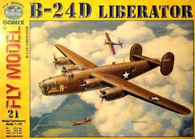 GOM-021    *     B-24D Liberator (1:33)