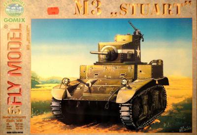 """GOM-065      *    M3 """"Stuart"""" (1:25)"""