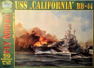 "GOM-099     *    USS ""California"" BB-44 (1:200)"