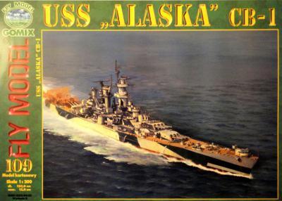 "GOM-109    *    USS ""Alaska"" CB-1 (1:200)"