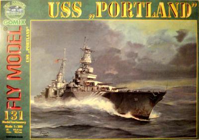 """GOM-131    *     USS """"Portland"""" (1:200)"""