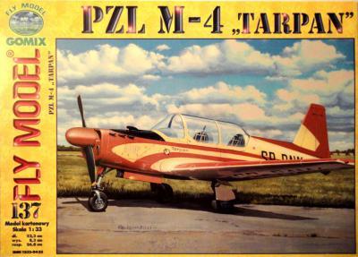 """GOM-137     *     PZL M-4 """"Tarpan"""" (1:33)"""