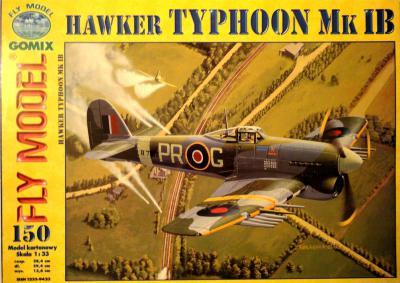 GOM-150     *    Hawker Typhoon Mk IB (1:33)