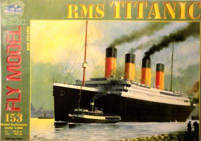 GOM-153    *     RMS Titanic (1:200)