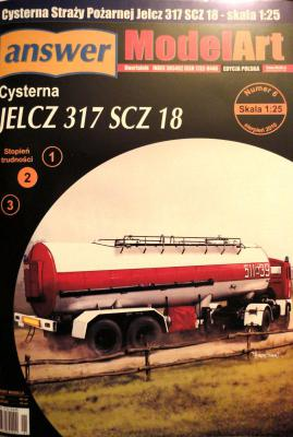 030     *      6\10       *       Cysterna JELCZ 317 SCZ 18 (1:25)      *      ANSWER     MOD-ART