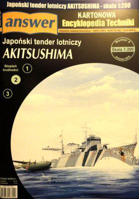 030      *     4\10      *         Japonski tender lotniczy Akitsushima (1:200)       *      ANSWER      AET
