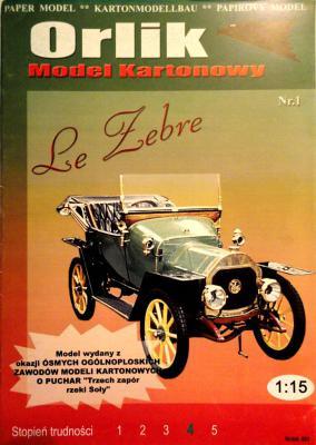 001         *          Le Zebre (1:15)        *     ORL