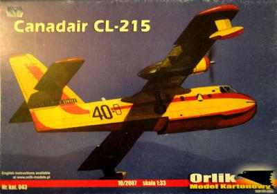 043         *           Canadair CL-215 (1:33)         *      ORL