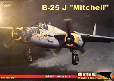 """051            *                B-25 J """"Mitchell"""" (1:33)         *      ORL"""