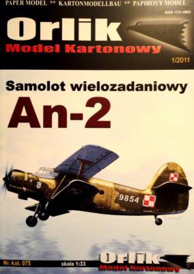 075               *               Samolot wielozadaniowy An-2 (1:33)    *   ORL