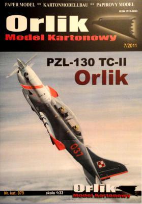 079             *                PZL-130 TC-II Orlic (1:33)    *    ORL