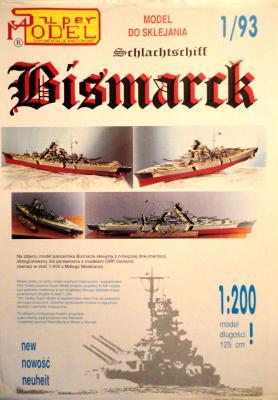 1\93   *  Bismarck (1:200)        *     SUPER
