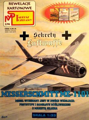 2\98    *  Messerschmitt Me-1101 (1:33)       *      SUPER