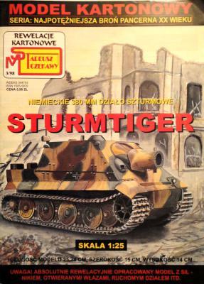 3\98    *   Sturmtiger (1:25)      *     SUPER