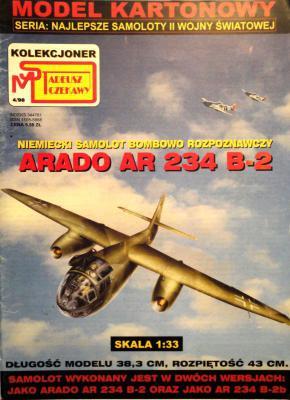 4\98   *   Arado Ar-234 B-2 (1:33)       *      SUPER
