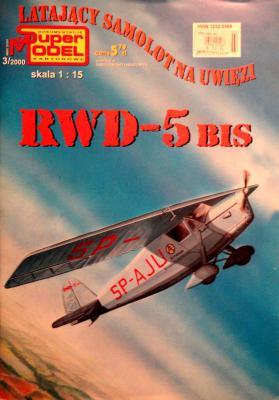 3\00   *   Latayacy samolot na uwiezi RWD-5 Bis (1:15)        *      SUPER