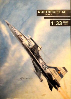Northrop F-5E Tiger II (1:33)      *     DESIGN