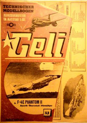 052     *      F-4E Phantom II 1:33   *   GELI