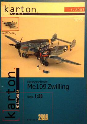 Messerschmitt Me-109 Zwilling (1:33)      *    EMA